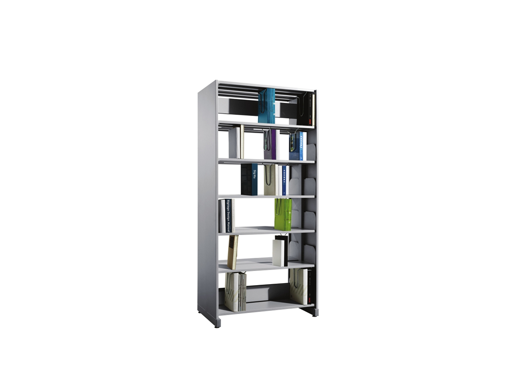 Double Sided 1 Bay Library Shelving Eurosteel Office